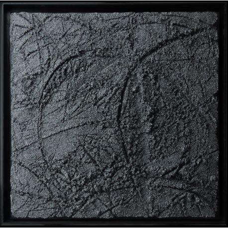 """""""MATERIOGRAPHY"""" n°185 Grains de Marbre 50x50cm"""