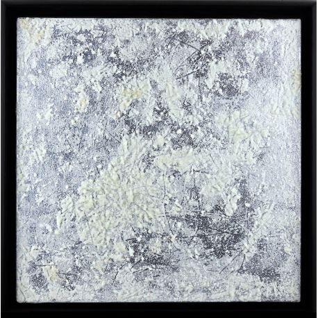 """""""MATERIOGRAPHY"""" n°131 Verre sur Aluminium 50x50cm"""