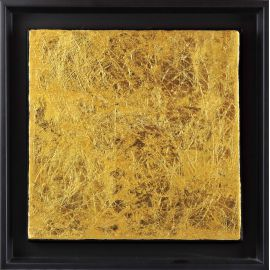 «MATERIOGRAPHY» n°117 Gold 9.8in.x9.8in.