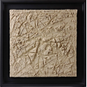 «MATERIOGRAPHY» n°114 Sand from Saint-Domingue 9,8x9,8in.