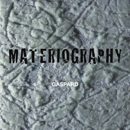 Livre MATERIOGRAPHY Gaspard